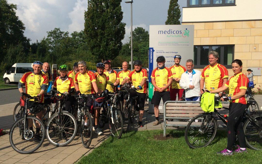 Mit Web-Tagebuch am Puls der Reha-Radtour NRW