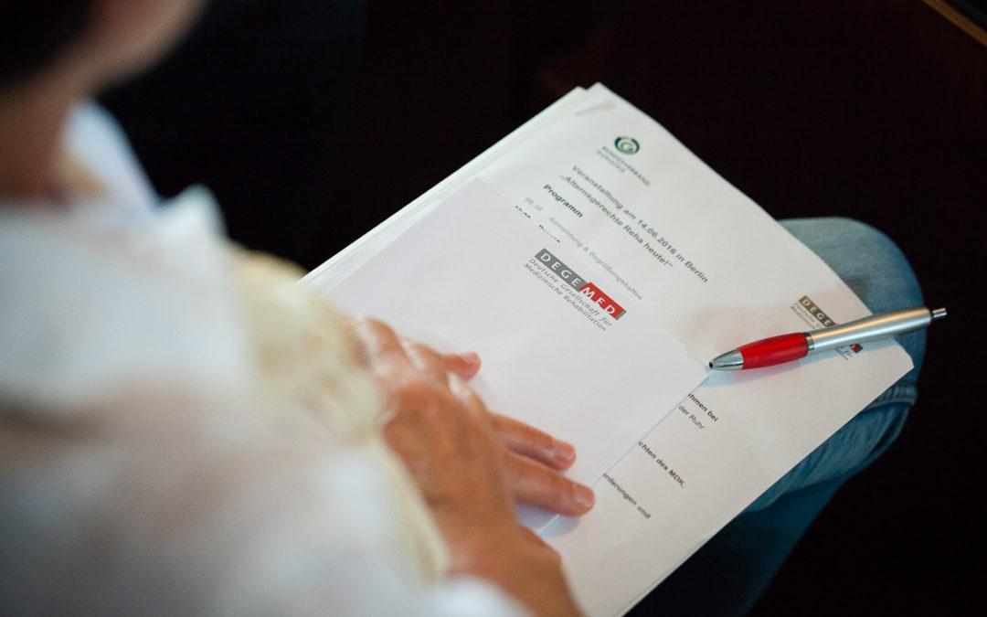 """Kinder-Reha sichert Lebensläufe: DEGEMED unterstützt DRV-Projekt """"Medizinisch-schulisch orientierte Rehabilitation"""""""