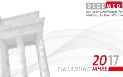 Eine Stimme für die Reha in Deutschland! – DEGEMED feierte ihr 20-jähriges Jubiläum