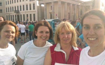 DEGEMED und BV Geriatrie zeigen sportlichen Einsatz beim IKKBB Firmenlauf