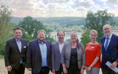 Dr. Becker Klinik Möhnesee im Dialog mit Vertretern der Politik