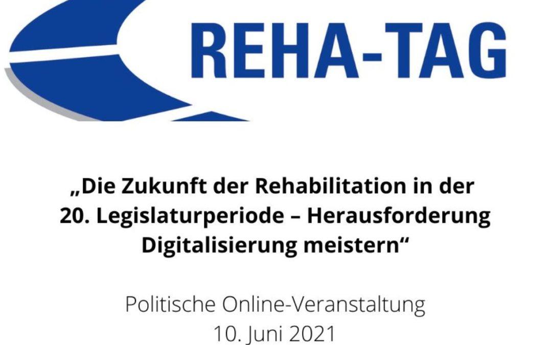 Deutscher Reha-Tag: Digitalisierung vorantreiben